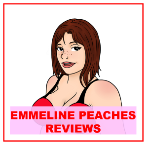 illustration of Emmiline wearing red bra attached to review of printed fluidproof sheet
